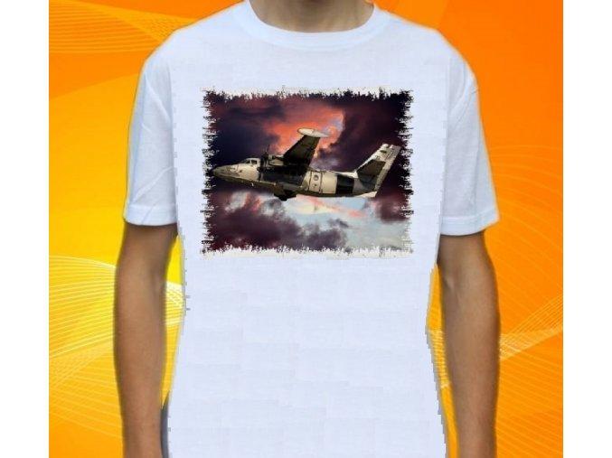 tričko, dětské, pánské, potisk, letadlo