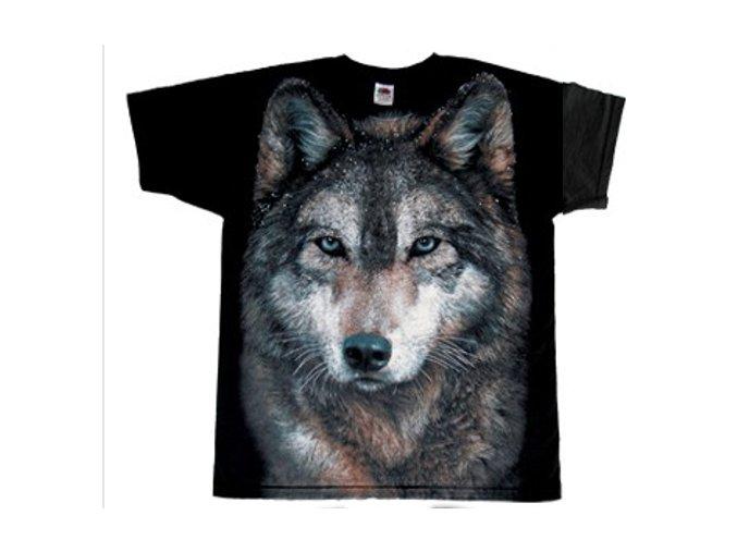tričko vlk lesní