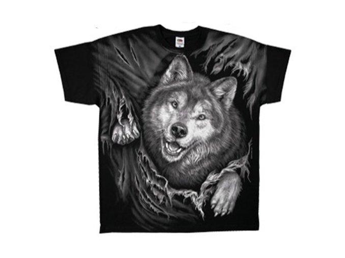 tričko vlčí hra
