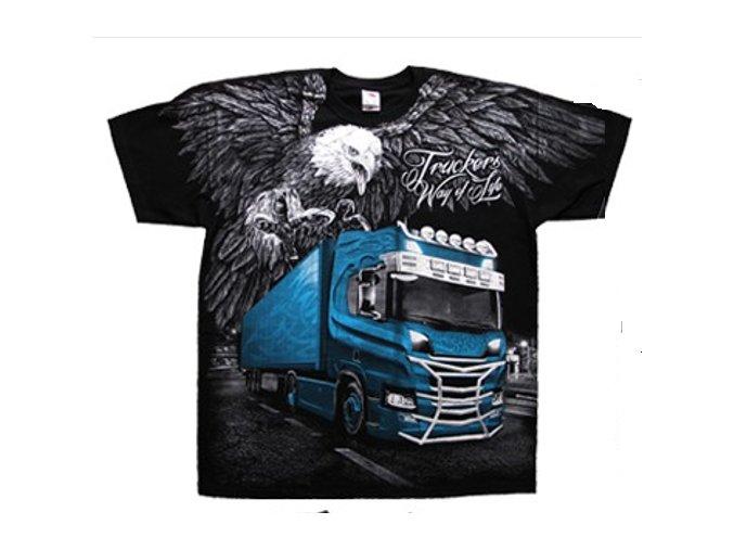 tričko řidiči kamionu