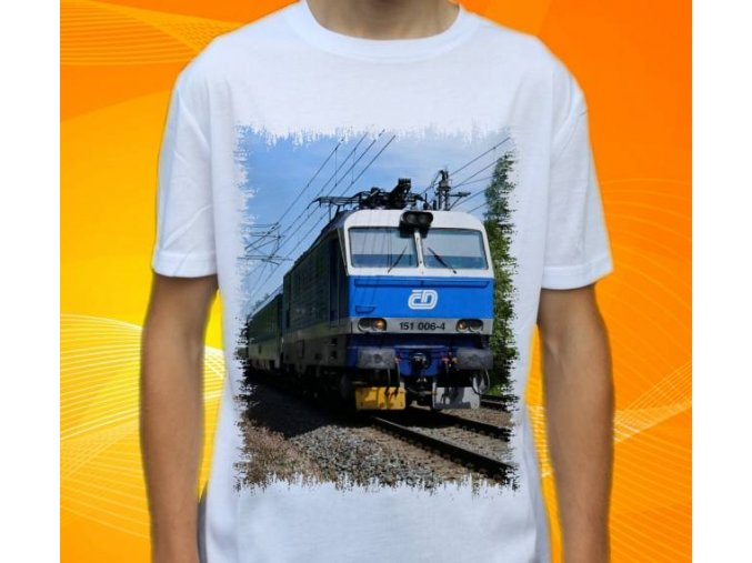 tričko elektrická lokomotiva 151.006