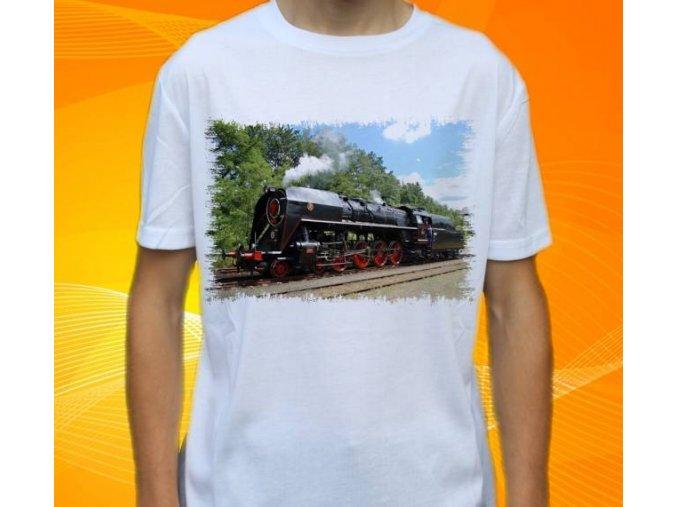 tričko parní lokomotiva 475