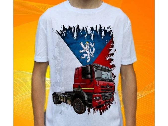 tricko-nakladni-auto-potisk-truck-tatra-158-phoenix