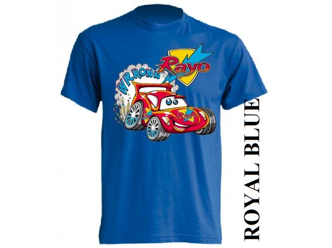 dětské_tričko-modré-potisk-auto-blesk