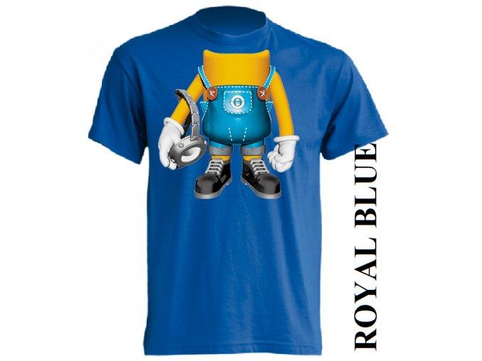 dětské_tričko-modré-potisk-minion