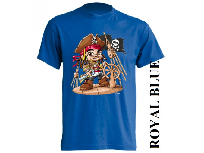 dětské_tričko-modré-potisk-pirát-sparrow