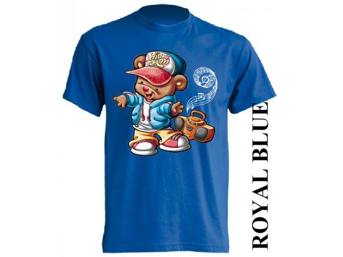 dětské_tričko-modré-potisk-hip_hop