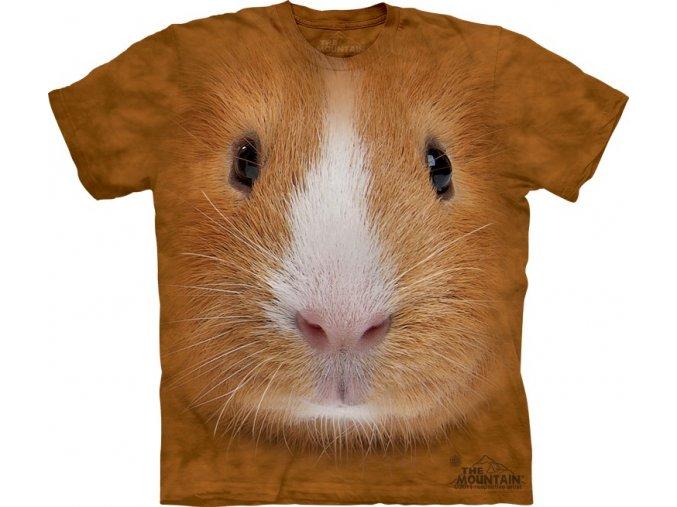 tričko, morče, 3d, potisk, dětské, mountain