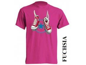 dětské_tričko-fuchsiové-tmavě_růžové-converse