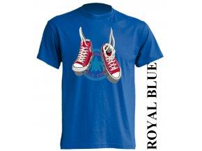 dětské_tričko-modré-potisk-converse
