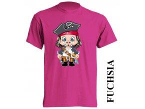 dětské_tričko-fuchsiové-tmavě_růžové-pirát