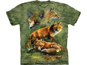 tričko s liškou