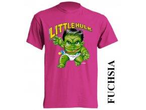 3D dětské tričko s potiskem Hulka tmavě modré