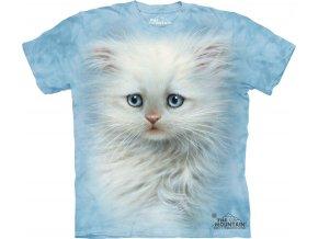 tričko, kočička, kotě, potisk, mountain, dětské