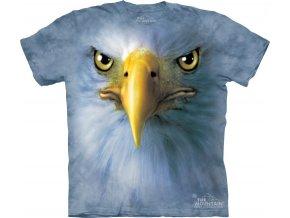 tričko, orel, 3d, batikované,  potisk, mountain