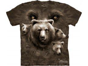 tričko-medvěd-oči-potisk-batikované-mountain