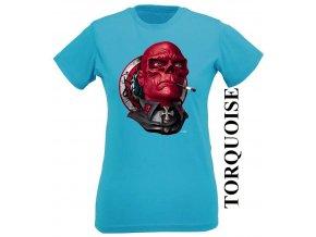 damske-tricko-avengers-red-skull-tyrkysove
