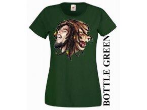 damske-levne-tricko-reggae-marley-zelene