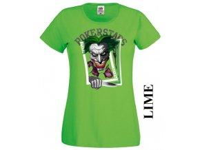 Dámské tričko s potiskem Jokera