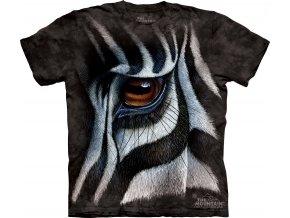 batikovane tricko potisk zebra
