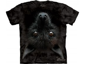3d tricko potisk netopyr