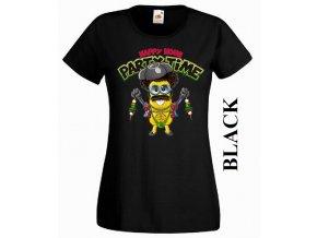 Dámské 3D vtipné tričko s potiskem Borata mimoně