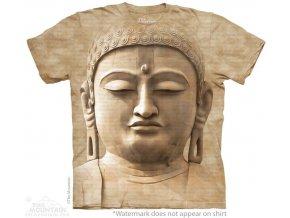 Tričko budha bůh potisk batikované