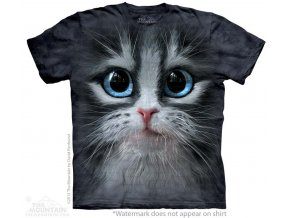 tričko-kočka-oči-potisk-batikované-3d
