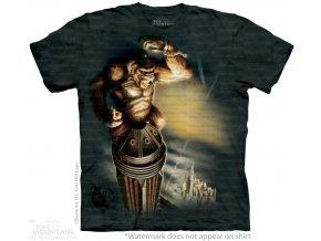 tričko-king kong-filmové-potisk-batikované-mountain