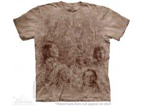 tričko-indiánské-náčelníci-batikované-potisk-mountain