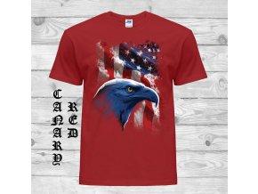 kanarsky cervene tricko americky symbol