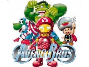 Nažehlovací transferový 3D obrázek Avengers