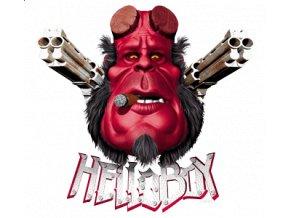 Nažehlovací transferový 3D obrázek Hellboy