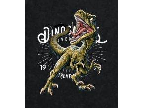 Nažehlovací transferový obrázek pro potisk textilu dinosaurus t-rex