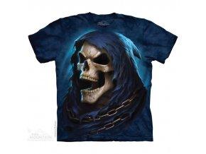 tričko-smrt-zubatá-batikované-potisk-metalové