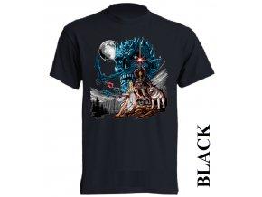 levné-tričko-černé-potisk-noční_král-hra_o_trůny