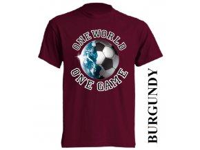 levné-tričko-vínové-potisk-fotbalový_míč-zeměkoule