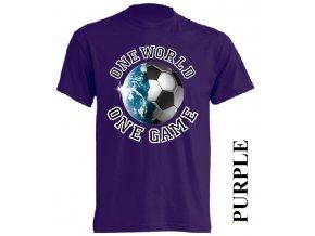 levné-tričko-fialové-potisk-fotbalový_míč-zeměkoule