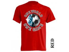 levné-tričko-červené-potisk-fotbalový_míč-zeměkoule