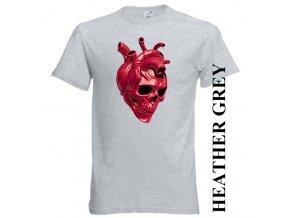 levne-tricko-lebka-srdce-sede