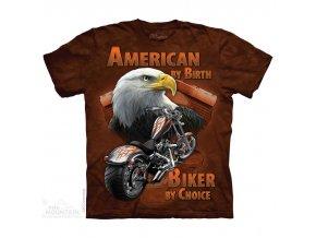 tričko-motorka-orel-chopper-batikované-potisk