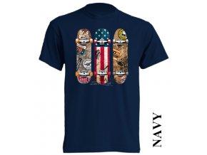 levne-tricko-tmave-modre-skateboard