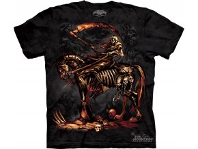 tričko-kosa-smrt-potisk-batikované-jezdec