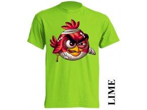 3d-tricko-limetkove-zelene-potisk-angry-red-bird