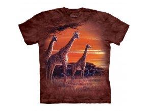 tričko se žirafou