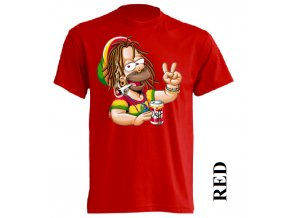 3D pánské APP vtipné tričko s potiskem rasta Homera