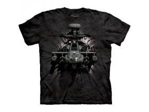 tričko s vrtulníkem