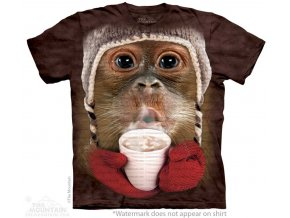 tričko-opice-orangutan-potisk-batikované-mountain