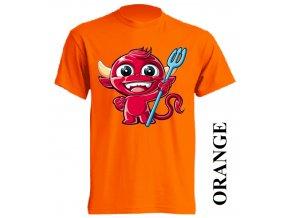 levne-detske-tricko-oranzove-potisk-cert