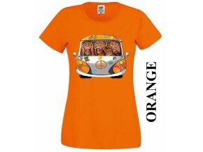levne-damske-tricko-hipie-vw-oranzove
